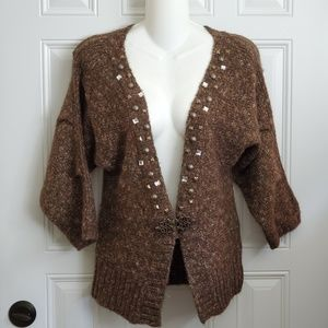 BKE BOUTIQUE BUCKLE cardigan sweater S